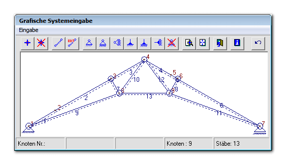 Programme for Stabwerk berechnen